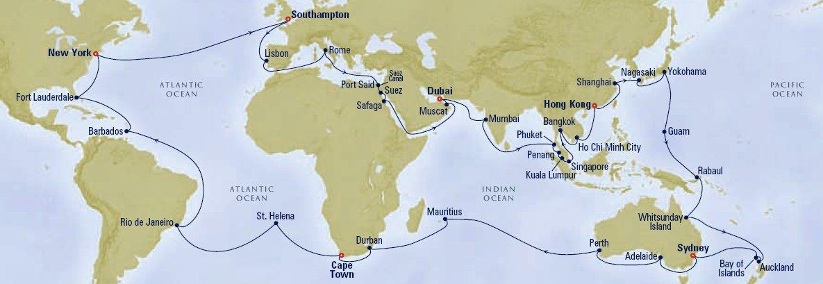 World Map 2010